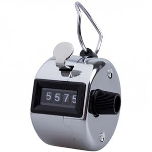 Digital Hand Tally Counter Training Counters 4 Digit Number Hand Held Tally Counter Manual Counting Golf Clicker