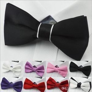 Hohe Qualität Männer Commerce Krawatte Für Braut Business Gentleman Fliege Formale Verdeckte Gitter Multicolor Bowknot Bogen Krawatten Drop Shipping