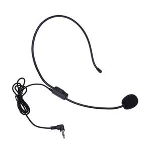 Casque d'écouteur portable filaire 3.5mm microphone à condensateur universel guide guide enseignement conférence microphone cadeau