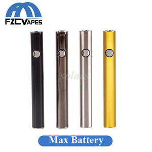 100% d'origine Amigo Max Preheat Battery Gold 380mAh 510 Tension Variable Bas USB Charge Vape Mods Batterie Stylo pour Liberty Cartouche