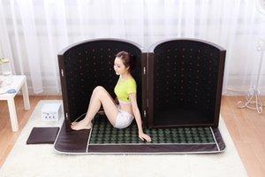 Neueste Art! Größere Größe Luxus Turmalin Steinsauna Kuppel Kapsel Far Infrarot-Sauna Kuppel mit negativen Ionen