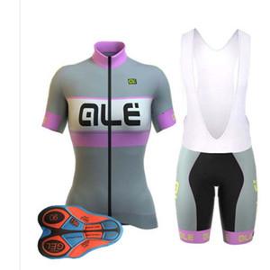 2018 Ropa Cilsimo Womens Ciclismo Set breve Bicicletta Abbigliamento Biking Cartoon MTB Maglie e traspirante 9D Pad Shorts