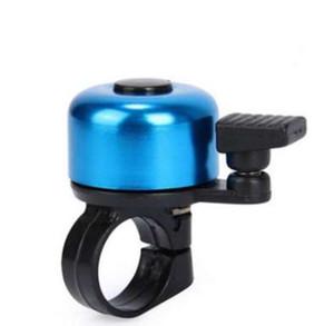 Pour la sécurité vélo vélo guidon anneau métallique noir vélo cloche klaxon alarme sonore accessoire de vélo extérieur de protection cloche