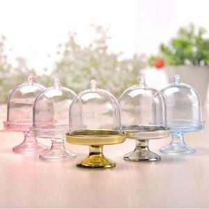 Mini Kek Standı Cupcake kutusu Düğün Parti Plastik Şeker Kutusu