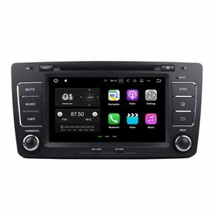 "2 din 8 ""안 드 로이드 7.1 자동차 라디오 GPS 멀티미디어 헤드 유닛 차량용 Skoda Octavia 2012에 대 한 2 GB RAM Bluetooth WIFI 미러 링크 USB DVR"