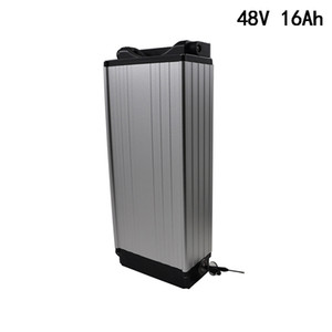 48V 13S 8P 18650 battery pack 16AH E-bike Lithium battery 350W 600W 1200W Electric bike battery 48V +2A Charger Free Shipping