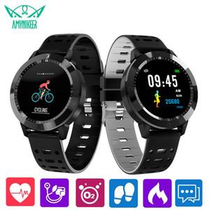 CF58 smart watch Bluetooth monitoramento da pressão arterial da frequência cardíaca rastreador de fitness para Android e IOS smartphone PK smartwatch q3