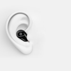 S750 سماعات بلوتوث لاسلكية سماعة في الأذن ميني مونو سماعات أذن واحدة سماعة الأعمال الخفية مع حزمة مقابل