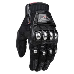 High Quality Alloy Steel Gloves Motocross Bicycle Motorcycle Motorbike Power sports Racing Bike Race Sport NEW 2018