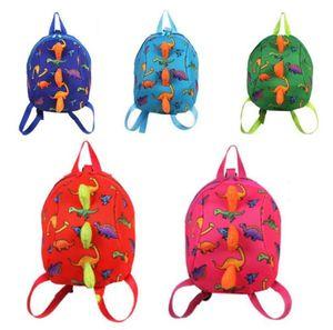 3D enfants dinosaure sac à dos Cartoon Arlo Anti Lost maternelle enfants filles garçons enfants sac à dos cartables animaux dinosaures collations Family Bags