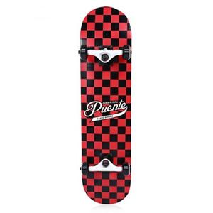 Skateboard Double Kick Deck a quattro ruote per l'intrattenimento con T-shape Gadget Maple Skateboard Four Wheel Double Snubby Longboard Drift