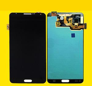ORIGINAL 5.7 '' SUPER AMOLED para SAMSUNG Galaxy Note3 Pantalla táctil Note 3 N9005 LCD Digitalizador Asamblea Piezas de repuesto