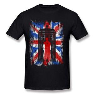 Best Sale Man 100% Cotton Fabric 10th UK flaf vintage T Shirt Man Crew Neck Grey Short Sleeve T Shirt Big Size Leisure T Shirt
