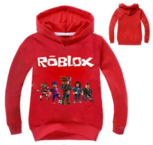 New 2-12Years Top Roblox Shirt Boys Hoodies Teenagers Ape Girls Sweatshirt Bebes Kids Jumper Fall Breakdance Clothes