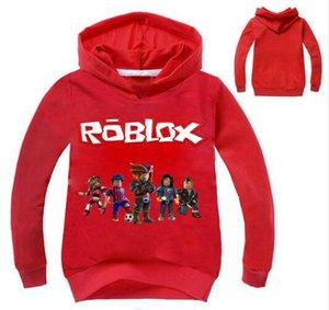 Yeni 2-12Years Üst Roblox Gömlek Boys Kapüşonlular Gençler Ape Kızlar sweatshirt Bebes Çocuklar Jumper Güz Breakdance Giyim