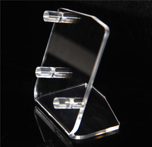 Ecig Box Mod Display Stand Acrylic Show Case For Vape Cig Kits Shelf Racks Ego One Aio ISTICK E cigarette Showcase Good Quality