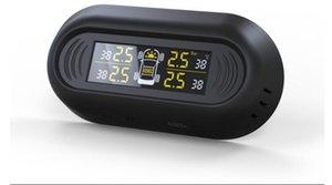Vehicle hidden wireless solar tire pressure detection car