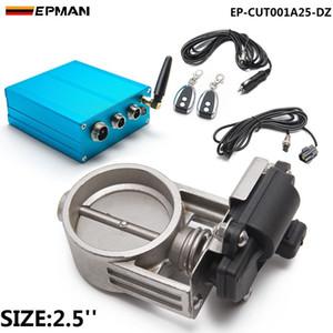 صمام التحكم EPAN-EXTHAS (E.C.V)) مجموعة مزدوجة + مربع التحكم الكهربائي للعادم catback downpipe EP-CUT001A25-DZ