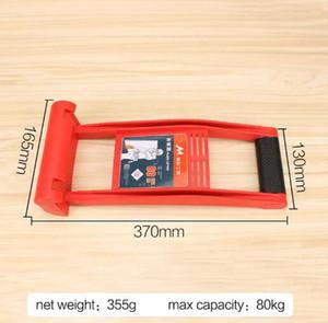 Envío gratis 1 UNIDS Marca Durable ABS Plástico Fácil de llevar Placa Madera Vidrio Levantador de mano (Capacidad de carga máxima 80 KG)