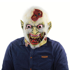Halloween Free Shipping Terrorist Rotten Corpse Latex Ghost Mask Toy Game Trick Mask Carnival Party Show Mask for Halloween Prop