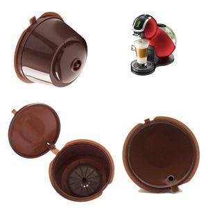 Kaffeekapsel Mit 1 STÜCK Plastiklöffel Nachfüllbare Kaffeekapsel 200 Mal Wiederverwendbar Kompatibel Für Nescafe Dolce Gusto c475