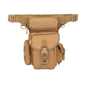 Hommes imperméable Oxford militaire Goutte Fanny pack moto sac jambe accessoires moto tactiques