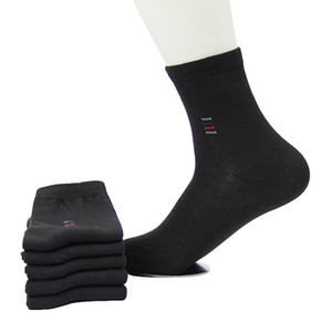 Men Socks Classic Business Brand Calcetines Hombre Socks Men High Quality Breathable Cotton Casual 5pairs=1lot Cheap Price