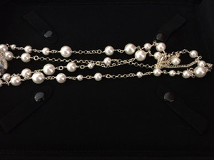 Hohe Qualität Vintage klassische Ketten Serie Korn-lange Halskette Mode-Kette für Frauen arbeiten Schmucksachen für Geschenk
