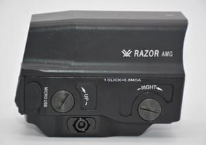 옵티컬 볼텍 면도기 AMG UH1 홀로그램 스타일 20mm 마운트 헌팅 라이플 용 적색 도트 시력
