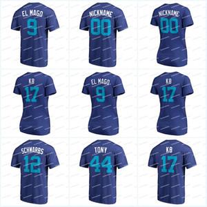 "رجال 9 Javier ""El Mago"" 44 ""Tony"" 2018 Players Weekend T-Shirt 17 ""KB"" 40 CONTRERAS ""WILLY THE BEAST"" 11 DARVISH ""YU-SAN"" Jerseys"