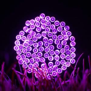 22M 200 LED Fairy Lights String Outdoor Natale Impermeabile Solar Powered Strip Light Illuminazione esterna per Garden Wedding Lamp