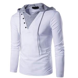 Sudadera con capucha casual de manga larga para hombre con capucha y capucha Sudaderas con capucha de hombre con capucha de estilo EUROPE SIZE B24-27