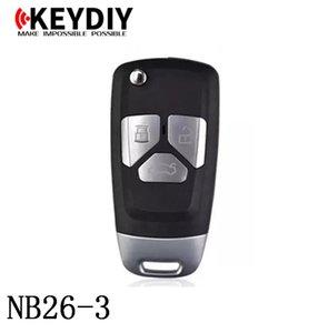 KEYDIY NB série NB26-3 chave remota multifuncional para KD300 e KD900 para produzir qualquer modelo remoto