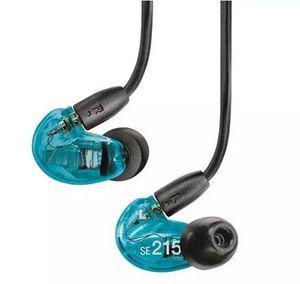 Sıcak Satış SE215 Kablolu 3.5 MM Hifi Stereo Kulak Kulaklık Gürültü Iptal Bas Kulaklık Kulaklık Fone De Ouvido