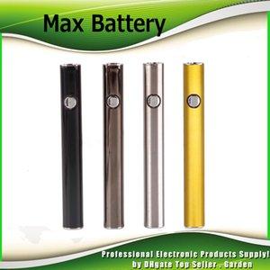 Autentico Amigo Max Preriscaldamento Batteria 380mAh Voltaggio VV VV Variabile Per 510 Olio Spessore Originale Liberty V9 Cartridge Serbatoio 100% Genuine