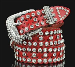2018 Nuevo cinturón de hebilla de diamante cinturones de diseño cinturones de lujo para hombre cinturón de hebilla de marca de calidad superior para hombre cinturones de cuero real