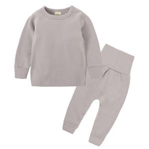 ÇOCUKLAR TALES 2018 YENI Sonbahar ve kış erkek ve kız çocuk ev hizmeti artı kaşmir pamuk bebek göbek elbise pijama