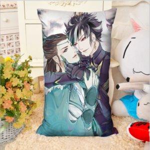 2 шт./лот античный аниме мультфильм прямоугольник анимация вокруг тела подушка творческие подарки диван подушка с сердечником двусторонняя домашнего текстиля