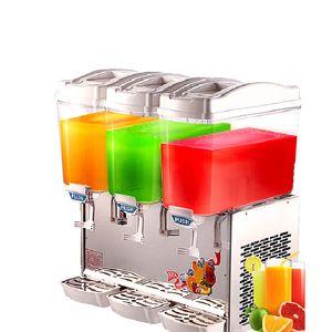 Beijamei Новый Коммерческий 17L * 3 Бак Холодного Горячего Напитка Машина Электрический Напиток Сока, Делая Молоко Машина Диспенсер
