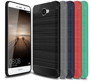 Brillante Spigen resistente caja de armadura suave para Huawei Ascend XT2 H1711 teléfono resistente a la absorción de choques Fibra de carbono cubierta de diseño