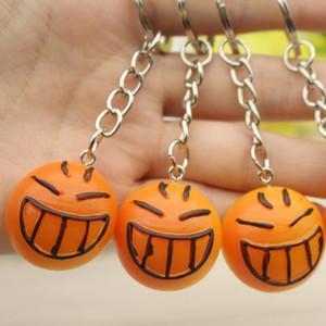 Cute Imitation Food Item Smile Bread Burger Key Chain Chain Creative Gift