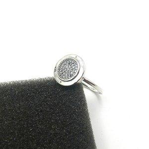 925 Sterling Silber CZ Diamant PAN RING mit Original Box für Pandora Damen Ringe Fashion Ehering Geschenk Schmuck