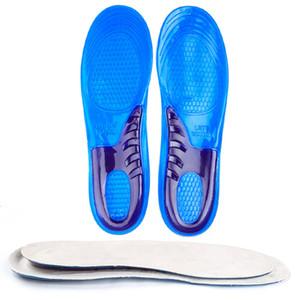 Shose Man Kadınlar tabanlık ortopedik Rahat Masaj Ayakkabı için Jel Tabanlık Şok Emme Yüksek Kalite 1 çiftleri ekler