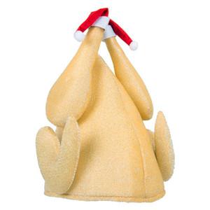 Divertido cómodo creativo Turquía Cap Centerpiece Headwear Hat Party Accesorio tocado traje para el día de acción de gracias de Navidad