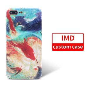 Großhandelsqualitäts-kundenspezifischer voller Abdeckungs-Fall für Samsung S9 Note9 iPhone X TPU, das IMD Handy-Abdeckung druckt