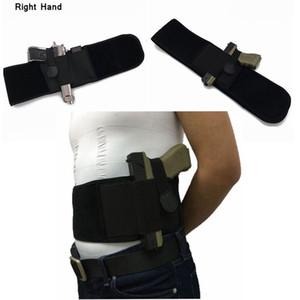 Coldre De Nylon Pistola Gun Holster Com Malote Maganize Direito / Mão Esquerda Ajustável Cintura Holster