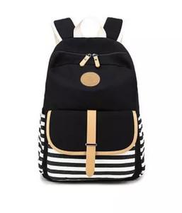 Bolsos de diseñador de marca Mochila de rayas azul marino, The New Canvas Bag, Students Backpack Bag. Tela de alta calidad. Super gran espacio práctico.