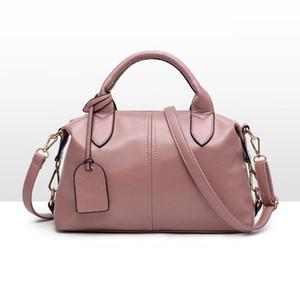Kadın çanta yeni gelgit Avrupa Boston eğilim tüm maç bayanlar çanta taşınabilir Omuz Satchel çanta messenger çanta
