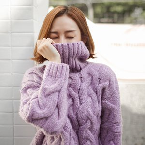 GABERLY Thick Mahai Soft Loose Elastic Sweaters and Pullovers Women Autumn Winter Cashmere Sweater Female Jumpers Brand Pullover