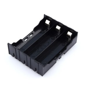 18650 держатель батареи чехол DIY литиевая батарея Box держатель батареи с Pin для 3 * 18650 (3.7-11.1 V) Бесплатная доставка